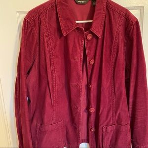 Red Corduroy Jacket